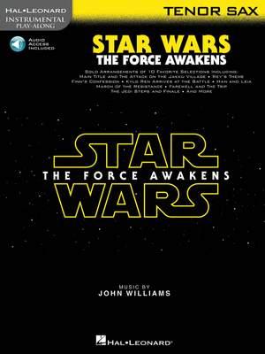 John Williams: Star Wars: The Force Awakens - Tenor Saxophone