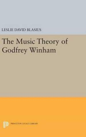The Music Theory of Godfrey Winham