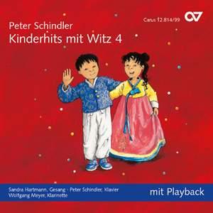 Peter Schindler: Schindler: Kinderhits mit Witz 4