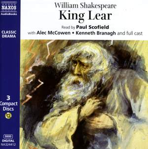 William Shakespeare: King Lear Product Image