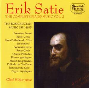 Satie: Complete Piano Music Vol. 2