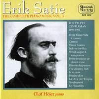 Satie: Complete Piano Music Vol. 3