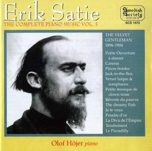 Satie: Complete Piano Music Vol. 3 Product Image