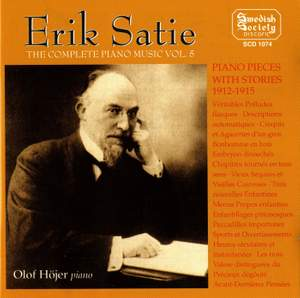 Satie: Complete Piano Music Vol. 5