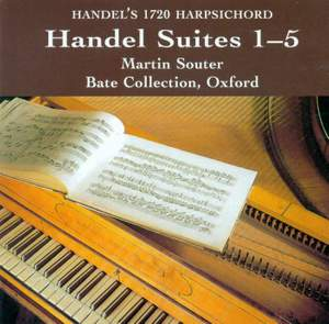 Handel: Harpsichord Suites Nos. 1-5 HV 426-430