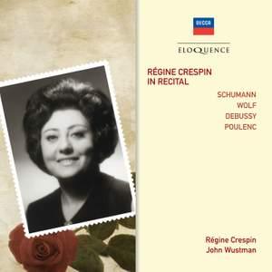 Régine Crespin in Recital