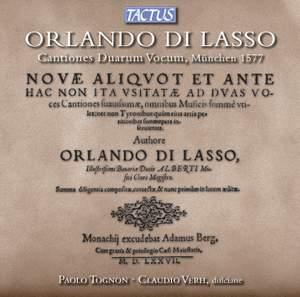 Lasso: Cantiones Duarum Vocum Product Image