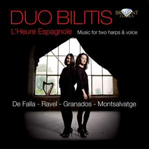 L'Heure Espagnole: Music for two harps & voice Product Image