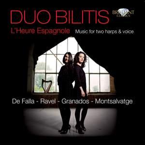 L'Heure Espagnole: Music for two harps & voice