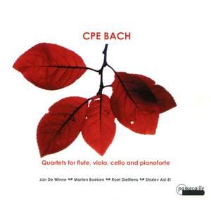 CPE Bach: Quartets for flute, viola, cello and pianoforte
