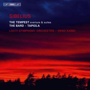Sibelius: The Tempest Overture and Suites Product Image