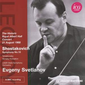 Evgeny Svetlanov conducts Shostakovich & Tchaikovsky
