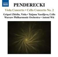 Penderecki: Viola Concerto & Cello Concerto No. 2