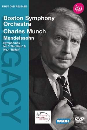 Boston Symphony Orchestra & Charles Munch play Mendelssohn