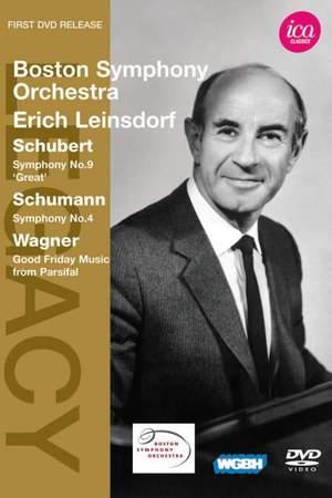 Boston Symphony Orchestra & Erich Leinsdorf play Schubert & Schumann Product Image