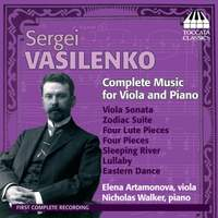 Sergei Vasilenko: Complete Music for Viola and Piano