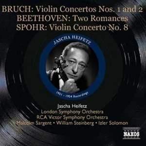 Jascha Heifetz plays Beethoven, Bruch & Spohr
