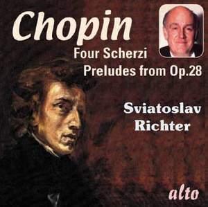 Chopin: 4 Scherzi & 13 Preludes