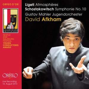David Afkham conducts Shostakovich & Ligeti