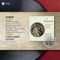 Verdi: Requiem & Four Sacred Pieces (recorded 1963/4)