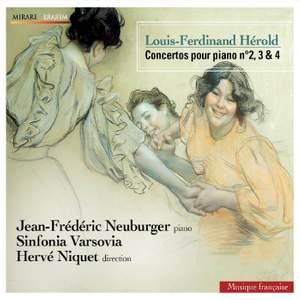 Louis-Ferdinand Hérold: Piano Concertos Nos. 2, 3 & 4