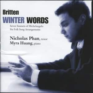 Winter Words: Songs By Britten