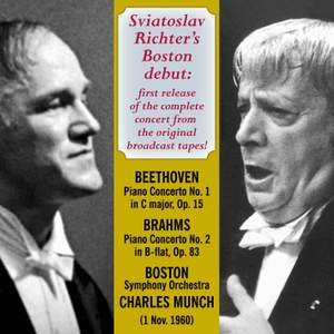 Sviatoslav Richter's Boston Debut