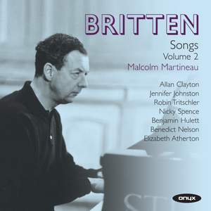 Britten: Complete Songs Volume 2