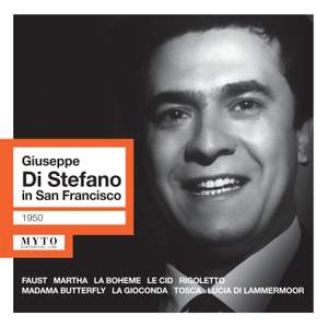 Giuseppe di Stefano in San Francisco