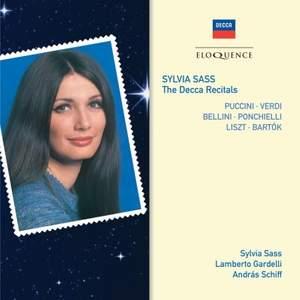 Sylvia Sass – The Decca Recitals