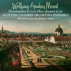Mozart: Divertimento K334 & Oboe Quartet K370