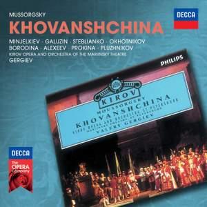 Mussorgsky: Khovanshchina