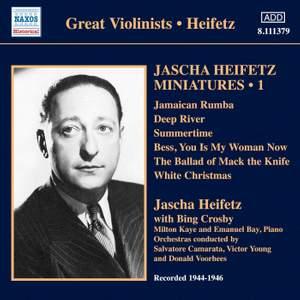 Jascha Heifetz Miniatures Volume 1 Product Image