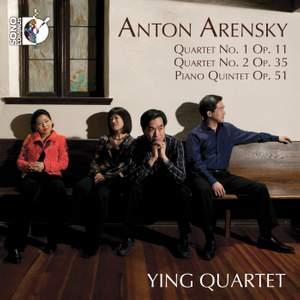 Arensky: String Quartets Nos. 1 & 2 & Piano Quintet