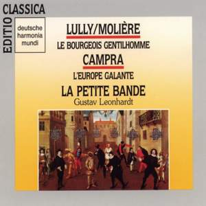 Lully/Molière: Le bourgeois gentilhomme