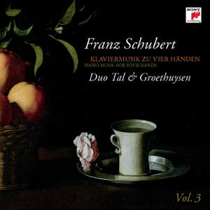 Schubert: Piano Music for Four Hands Vol. 3