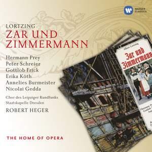 Lortzing: Zar und Zimmermann