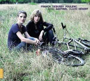 Cello Sonatas by Franck, Debussy & Poulenc