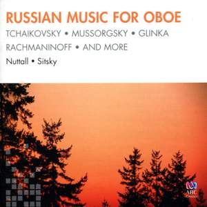 Russian Music for Oboe Product Image