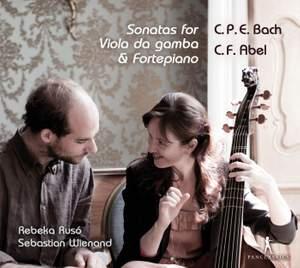 CPE Bach & CF Abel: Sonatas for Viola da gamba & Fortepiano