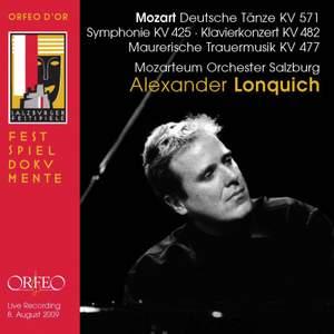 Mozart: Deutsche Dances, Symphony No. 36 & Piano Concerto No. 22