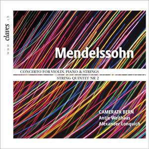 Mendelssohn: Concerto & String Quintet No. 2 Product Image