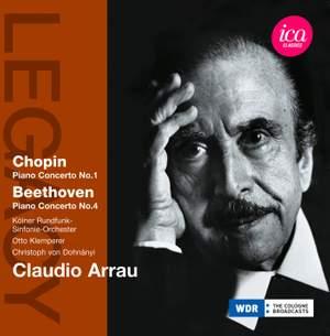 Claudio Arrau plays Chopin & Beethoven