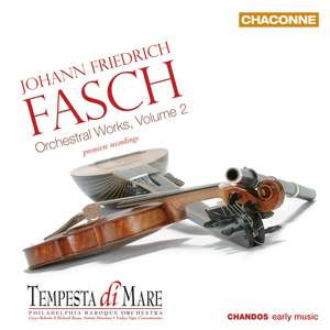 Fasch: Orchestral Works, Volume 2