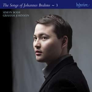 Brahms: The Complete Songs Volume 3 (Simon Bode)