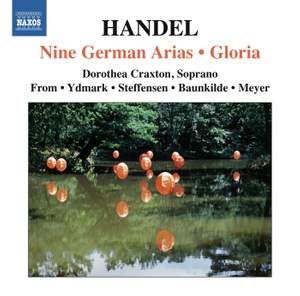 Handel: Nine German Arias HWV 202-210 Product Image
