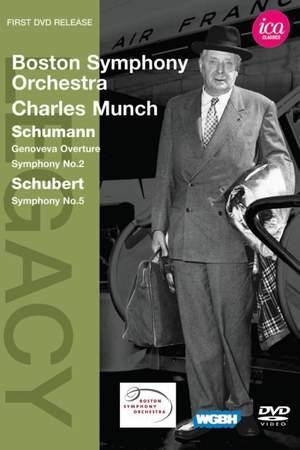 Charles Munch conducts Schubert & Schumann