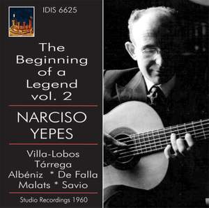 Narciso Yepes: The Beginning of a Legend Volume 2