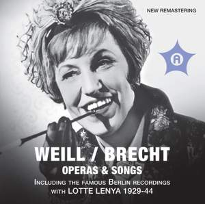 Weill & Brecht: Operas & Songs Product Image