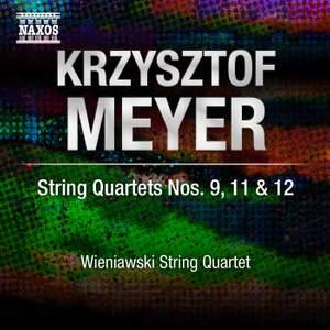 Meyer: String Quartets Volume 2